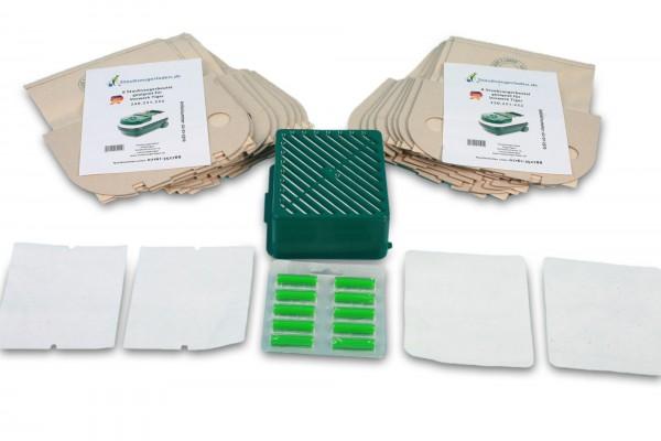 Sparset geeignet für Tiger 251/252: Staubsaugerbeutel, Abluftfilter, Aktivfiltersystem