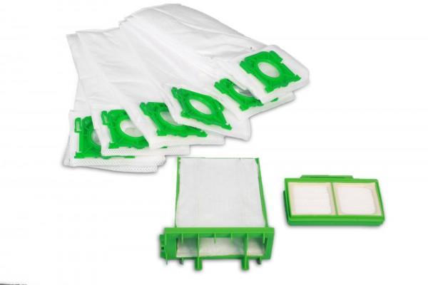 Sparset passend für Sebo Airbelt-K: 8 Staubsaugebeutel, MicroFilter, Hygienefilter Ersatz für Sebo