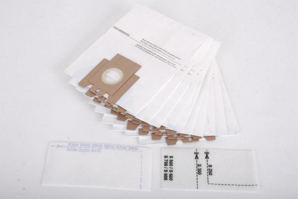 10 Staubsaugerbeutel für Miele S4, S 241, S 290, etc. M50