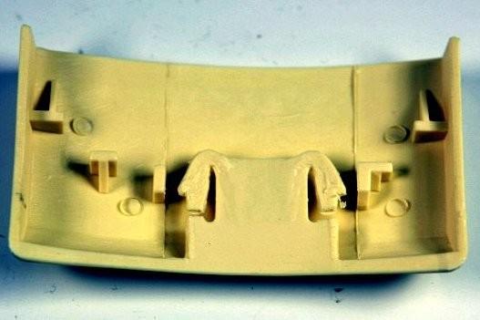 Ersatzteil: Orange Verschlusskappe geeinget für Vorwerk Kobold 122