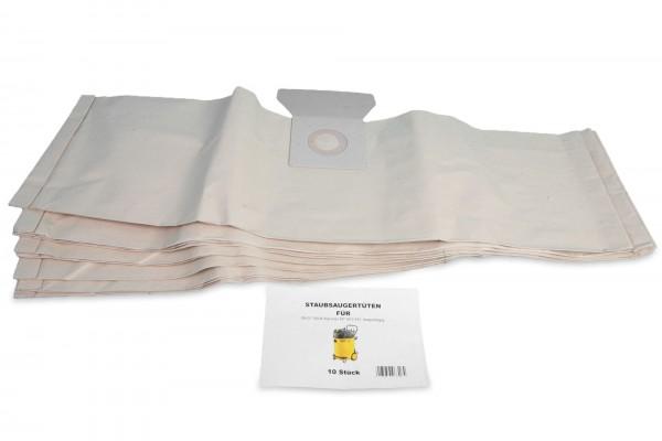 10 Premium Staubsaugerbeutel passend für Kärcher NT 501 / 551