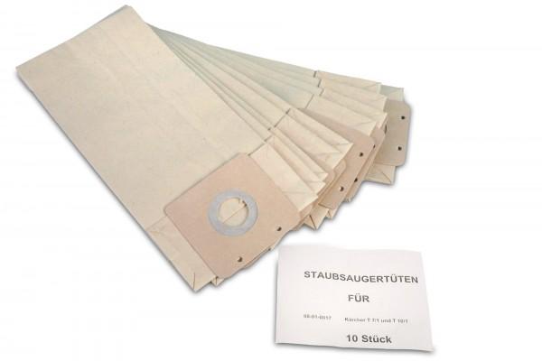 10 Staubsaugerbeutel passend für Kärcher T7/1 T9/1 T10/1