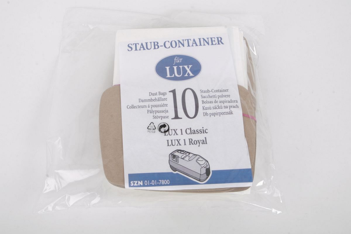 Günstige Staubsaugerbeutel Lux 1 ~ Staubsauger Lux