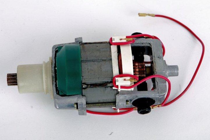 Motor für Vorwerk ET 340 instandgesetzt