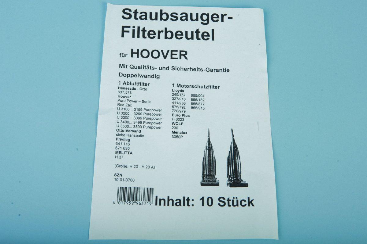 staubsaugerbeutel h 37