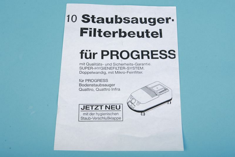 Günstige Staubsaugerbeutel Progress Electrolux P 42