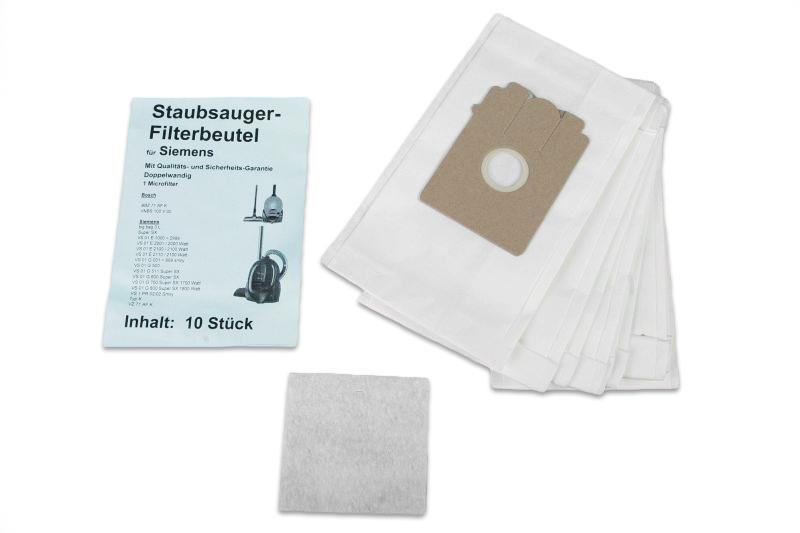 g nstige staubsaugerbeutel siemens ersatz f r typ k swirl s70. Black Bedroom Furniture Sets. Home Design Ideas