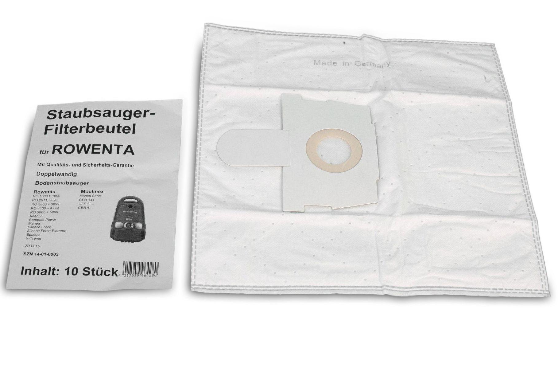 g nstige staubsaugerbeutel f r rowenta artec 2 manea silence force staubsauger r36 r 36. Black Bedroom Furniture Sets. Home Design Ideas